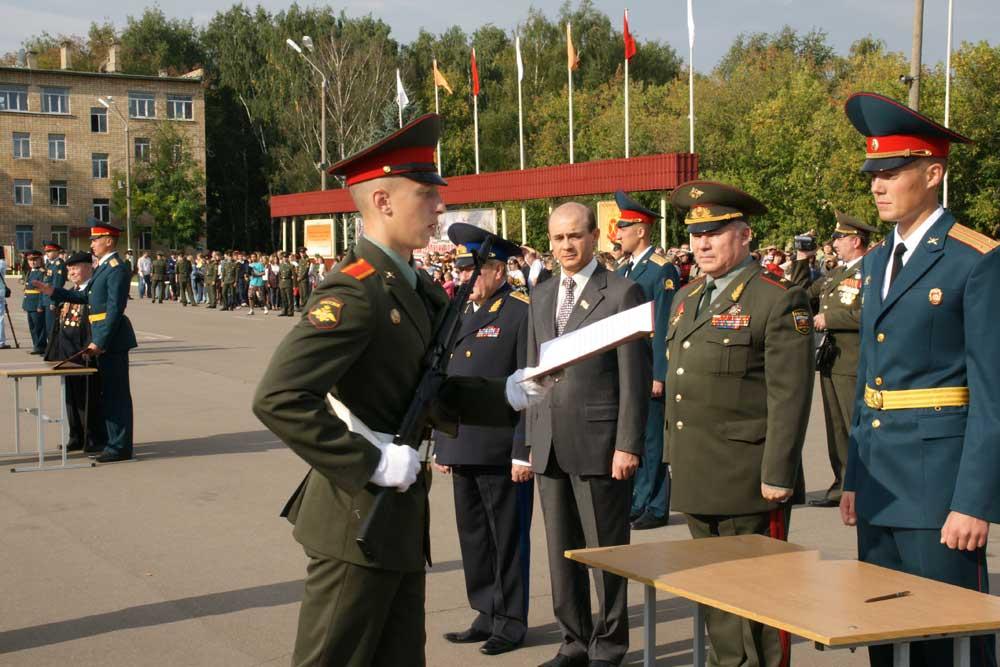 Конкурс в московское высшее военное командное училище